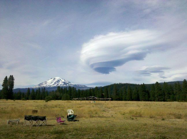 Mt Adams Lenticular
